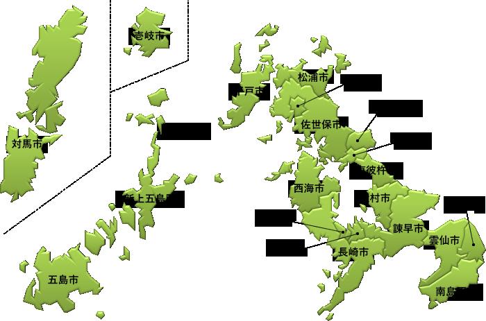 長崎県地図