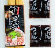 手延べ中太麺 魚介系鰹ラーメン