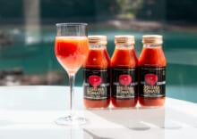 大島トマトジュース ミニ瓶