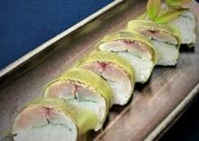 値賀咲(いさき)の棒寿司